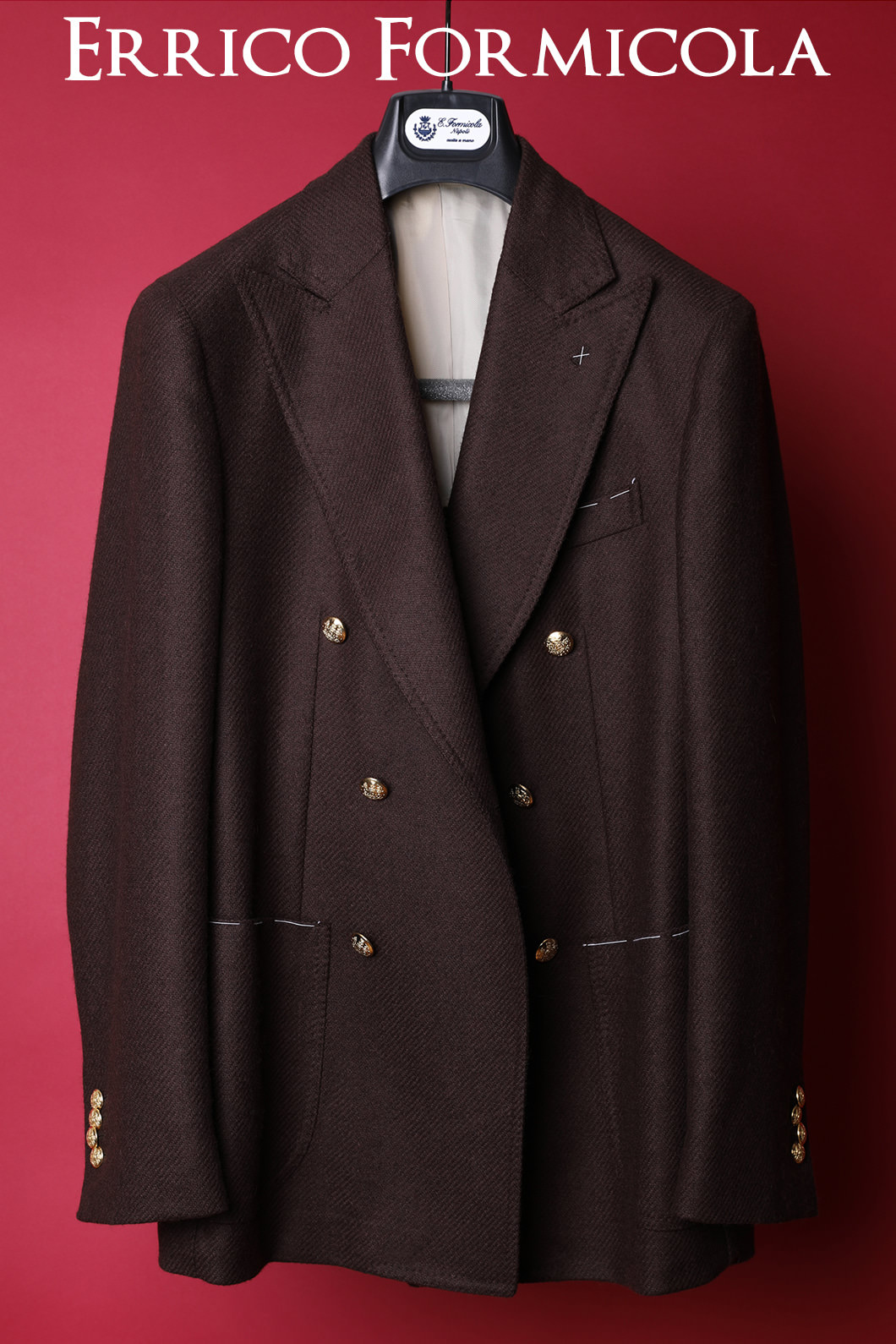 Errico Formicola Double JacketMade in ITALY