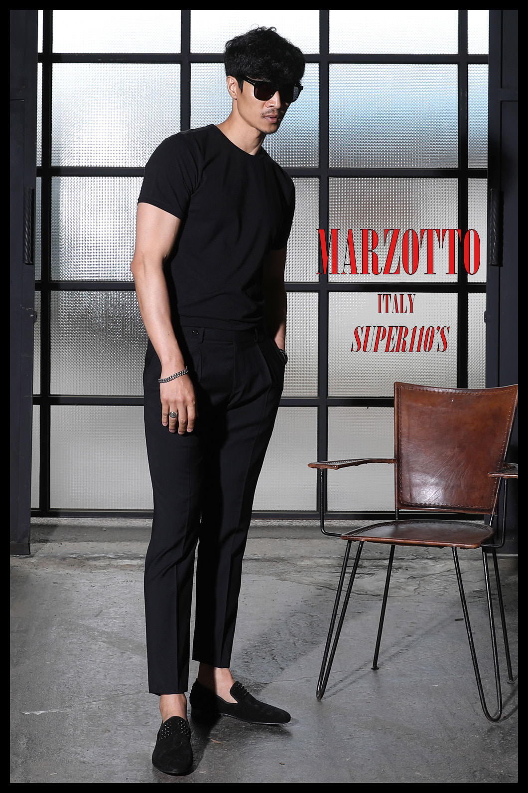 TAKE492 ITALY MARZOTTO VOLUME SLACKS PANTS-BLACK-적극추천-1/2이상판매완료-Best Seller!!