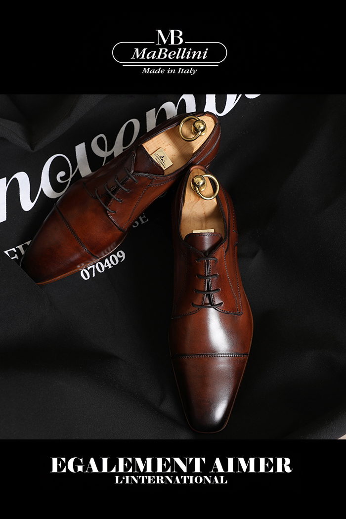 TAKE454 Mabellini SHOES-BROWN[MADE in ITALY]이태리제작-소량한정-당일배송!!