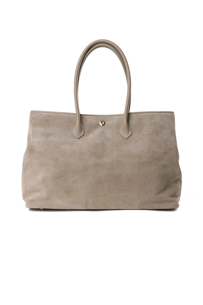 Beige Suede Tote bag[premium-special order-limited]