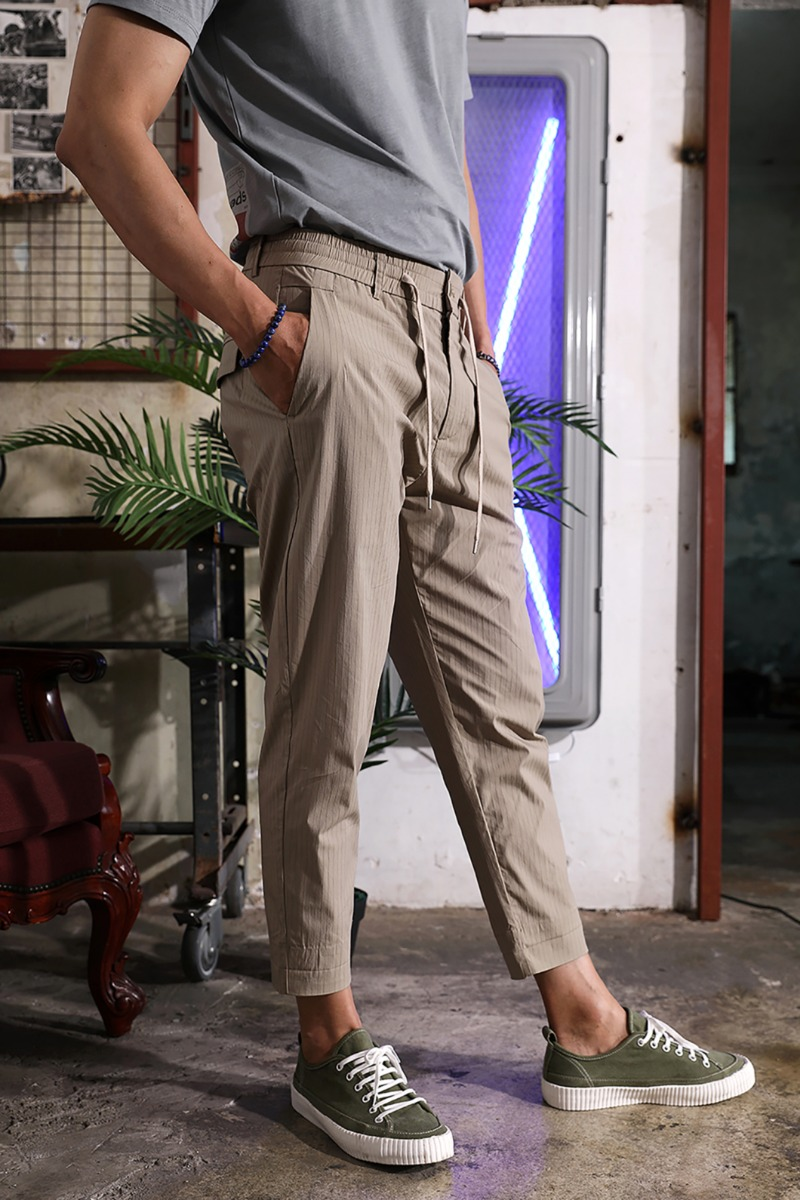 PAVIOT STRIPE BANDING PANTS-2COLOR수입한정제품
